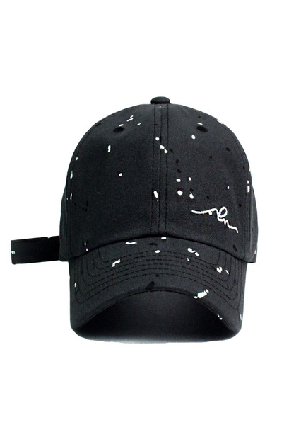 SOLD OUT[unisex]PAINTING SLEEPING BLACK BALL CAP
