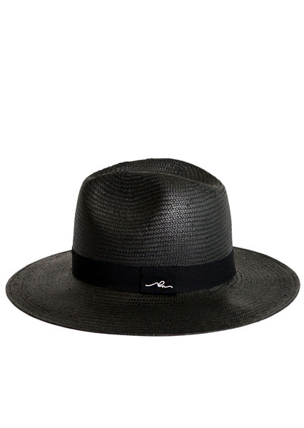 [unisex]SLEEPING BLACK PANAMA HAT