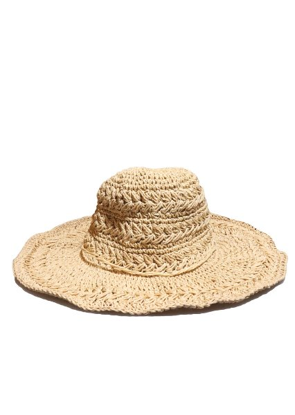 [unisex]NATURE RB BEIGE BUCKET HAT