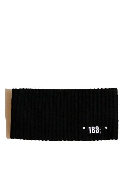 SOLD OUT[unisex]183; LONG BLACK HAIR BAND