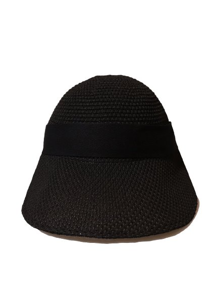 [unisex]VENICE BLACK RIBBON HAT